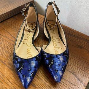 Sam Edelman Radley Floral Pointed Toe Flats